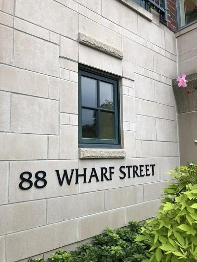 Milton Condo/Townhouse New: 88 Wharf St #601