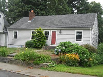 Marlborough Single Family Home New: 43 Warren Avenue