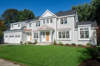 Wellesley Single Family Home New: 7 Sprague Rd