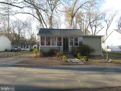 Colonial Beach Single Family Home For Sale: 33 7th Street