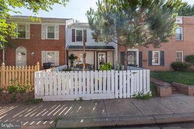 Manassas Townhouse For Sale: 9293 Taney Road