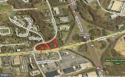 Hyattsville Residential Lots & Land For Sale: 9224 Central Avenue