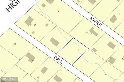 Accokeek Residential Lots & Land For Sale: 1911 Dale Lane