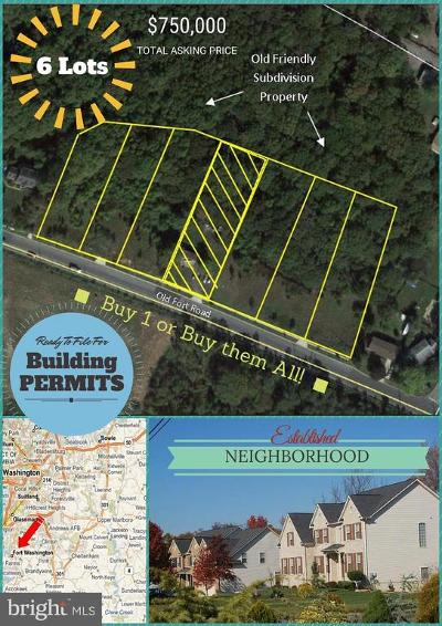 Fort Washington Residential Lots & Land For Sale: 9950 Old Fort Road