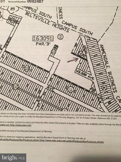Beltsville Residential Lots & Land For Sale: Lot 17, 18, 19, 20 Highview Avenue