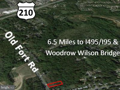 Fort Washington Residential Lots & Land For Sale: 9954 Old Fort Road