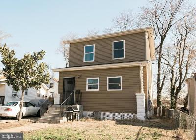 Hyattsville Single Family Home For Sale: 4803 48th Avenue