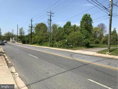 Capitol Heights Residential Lots & Land For Sale: Walker Mill Road