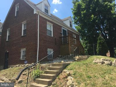 Prince Georges County Single Family Home Under Contract: 5001 Southern Avenue