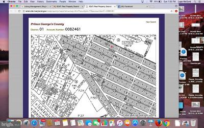 Beltsville Residential Lots & Land For Sale: Lots 7, 8, 9 Rinard Avenue