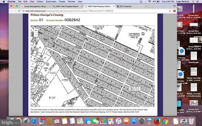 Beltsville Residential Lots & Land For Sale: Lots 48-50 Rinard Avenue