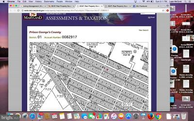 Beltsville Residential Lots & Land For Sale: Lots 51, 52 Rinard Avenue