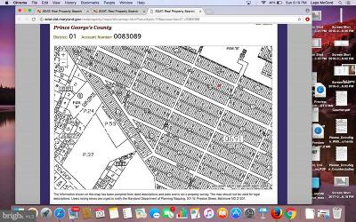 Beltsville Residential Lots & Land For Sale: Lots 36, 37 Rinard Avenue