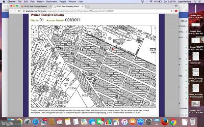 Beltsville Residential Lots & Land For Sale: Lots 24-27 Rinard Avenue