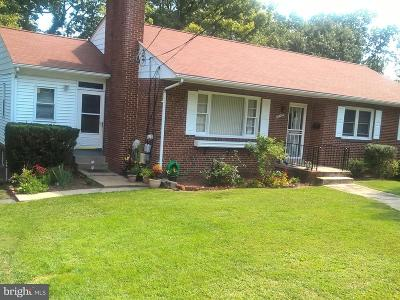Adelphi Single Family Home For Sale: 10109 Towhee Avenue