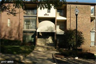 Greenbelt Townhouse For Sale: 7716 Hanover Parkway #125