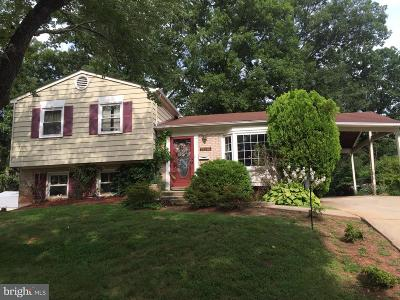 Lanham MD Single Family Home Under Contract: $260,000