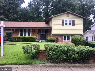 Lanham Single Family Home For Sale: 6942 Nashville Road