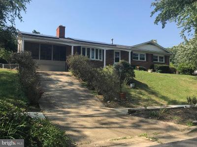 Fort Washington Single Family Home Under Contract: 10101 Kathleen Drive