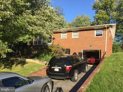Temple Hills MD Single Family Home For Sale: $230,000