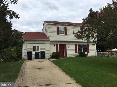 Upper Marlboro Single Family Home Active Under Contract: 9812 Ambler Lane