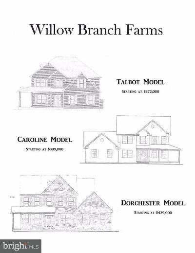 Centreville Single Family Home For Sale: Willow Branch Farms
