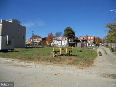 Baltimore City Residential Lots & Land For Sale: 6110 Danville Avenue