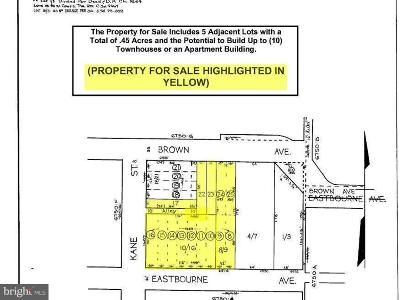 Baltimore City Residential Lots & Land Active Under Contract: 6516 Eastbourne Avenue