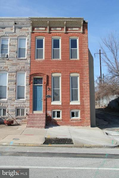 Baltimore Townhouse For Sale: 1326 Broadway