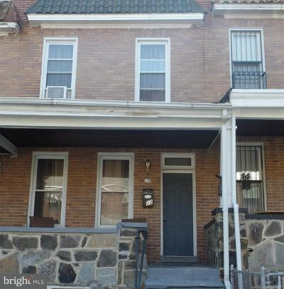 Baltimore Townhouse For Sale: 22 Kresson Street S