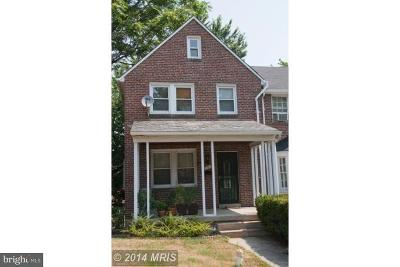 Baltimore MD Duplex For Sale: $89,900