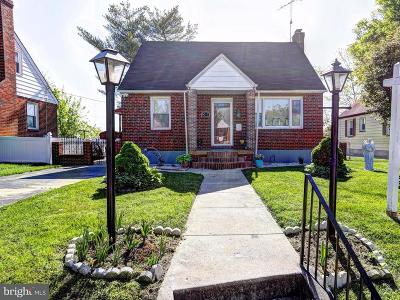 Single Family Home For Sale: 6011 Plumer Avenue