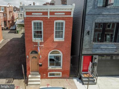Canton, Federal Hill, Federal Hill Area, Federal Hill;, Federall Hill, Fell Point, Fells Point, Fells Point Upper, Inner Harbor Single Family Home Under Contract: 1437 Marshall Street