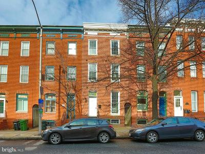 Baltimore Townhouse For Sale: 2010 Lombard Street E