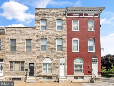 Baltimore Townhouse For Sale: 3524 Baltimore Street