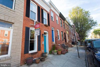 Canton, Federal Hill, Federal Hill Area, Federal Hill;, Federall Hill, Fell Point, Fells Point, Fells Point Upper, Inner Harbor Single Family Home For Sale: 1438 Battery Avenue
