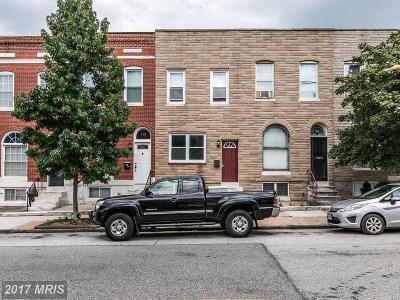 Baltimore Townhouse For Sale: 251 East Avenue S