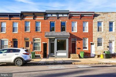 Baltimore Single Family Home For Sale: 2512 Fait Avenue