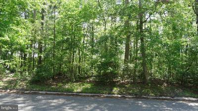 Worcester County, WORCESTER COUNTY Residential Lots & Land For Sale: 830 White Oaks Lane