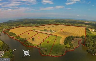 Bozman, Claiborne, Mcdaniel, Neavitt, Newcomb, Royal Oak, Saint Michaels, Sherwood, St Michaels, St. Michaels, Wittman Residential Lots & Land For Sale: 9673 Tilghman Island Road