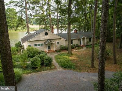 Talbot County Single Family Home For Sale: 6877 Edge Creek Road