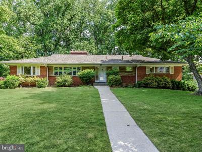 Bethesda Single Family Home For Sale: 6717 Tulip Hill Terrace