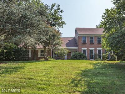 Rockville Single Family Home For Sale: 18109 Hollingsworth Drive