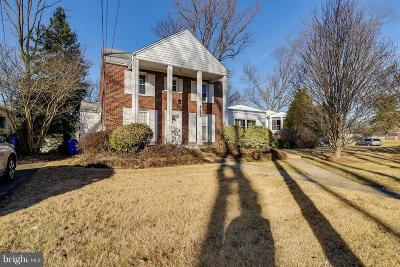 Silver Spring Single Family Home For Sale: 8724 Milford Avenue