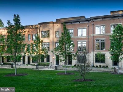 Chevy Chase Townhouse For Sale: 3605 Chevy Chase Lake Drive #BRADLEY