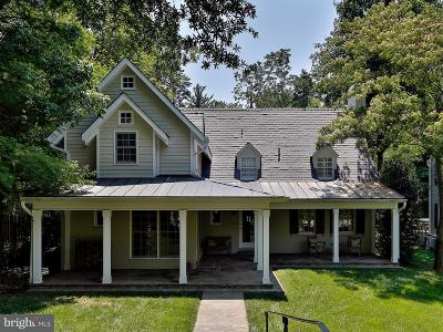 Chevy Chase Single Family Home For Sale: 4810 Cumberland Avenue