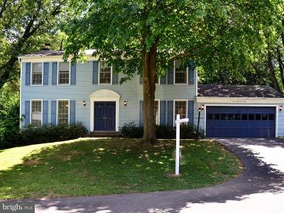 Burke Single Family Home For Sale: 6003 Coffer Woods Court