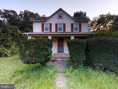 Fairfax County Single Family Home For Sale: 3626 Munson Road