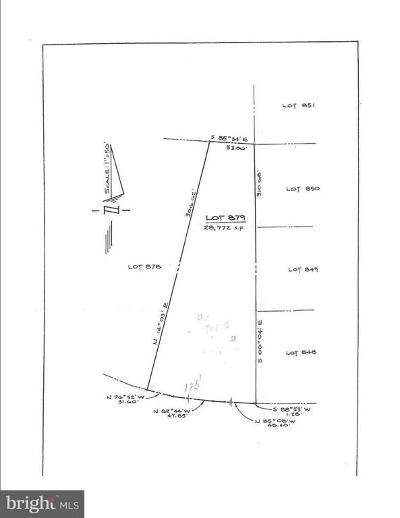Calvert County, Saint Marys County, Charles County Residential Lots & Land For Sale: Golden Beach Road Lot #879