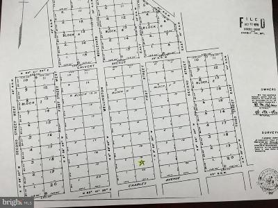 Charles County Residential Lots & Land For Sale: Not On File Beach